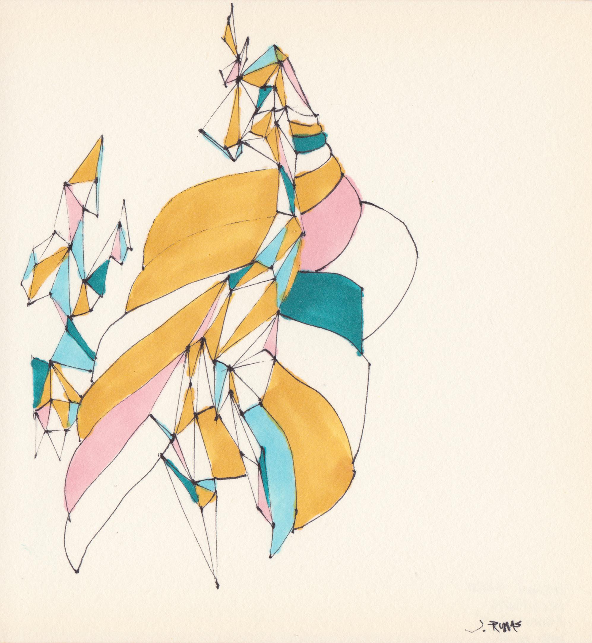 JEREMY RUMAS ART + PEN and MARKER SKETCHES 08 + abstract futurism + modern art +www.jeremyrumas.com.jpeg