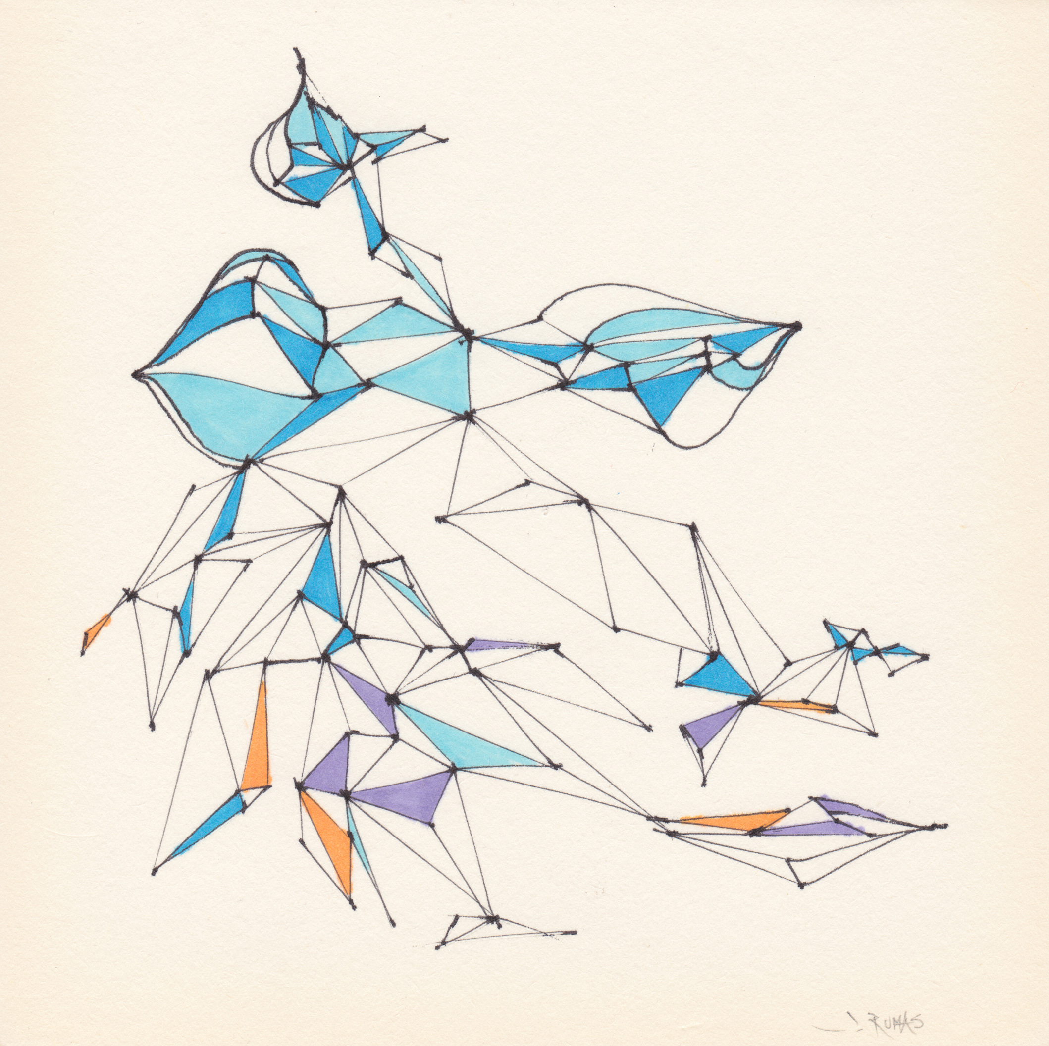 JEREMY RUMAS ART + PEN and MARKER SKETCHES 01 + abstract futurism + modern art +www.jeremyrumas.com.jpeg
