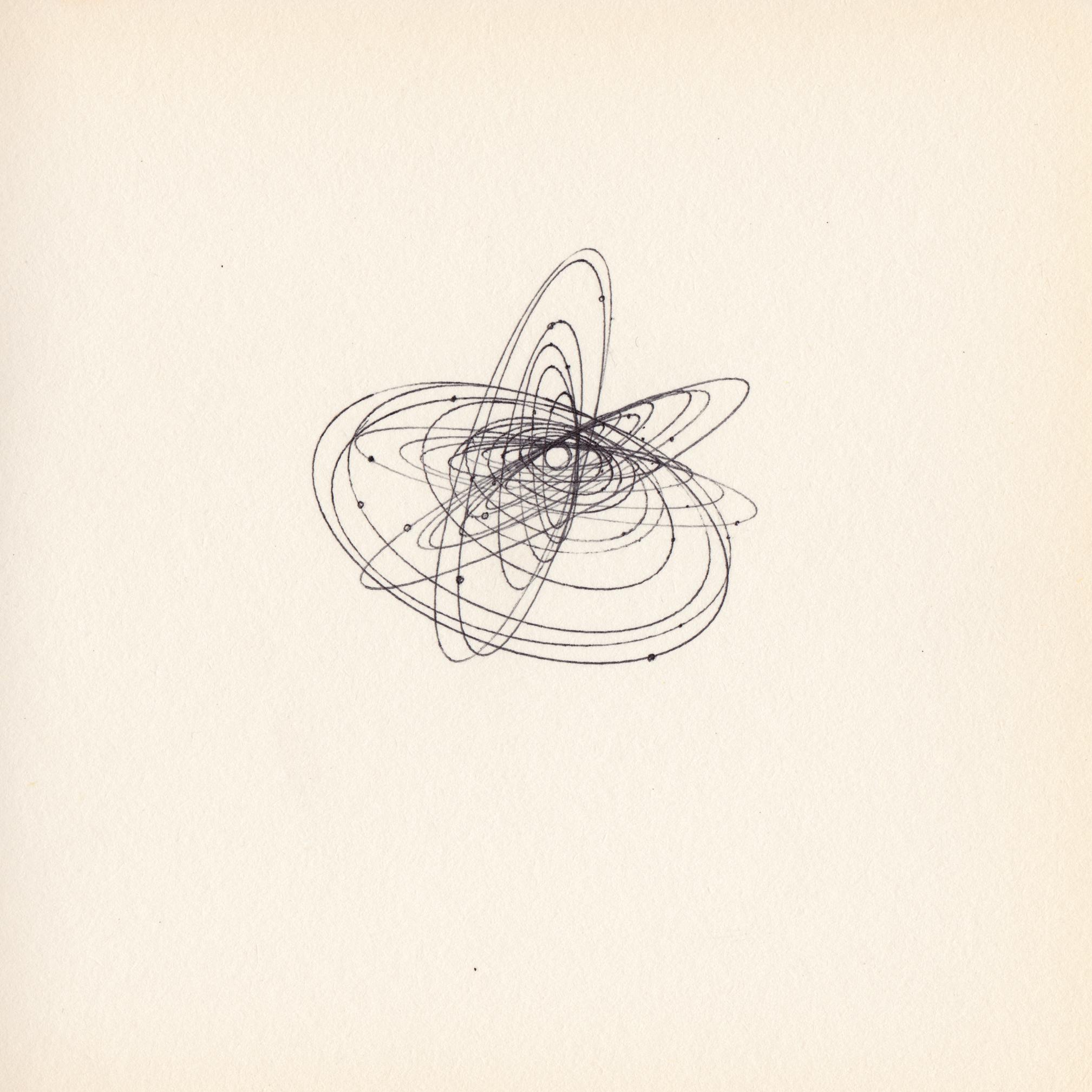 JEREMY RUMAS ART + PEN and MARKER SKETCHES _ ORBIT 01 + space + solar system + futurism + modern art +www.jeremyrumas.com.jpeg