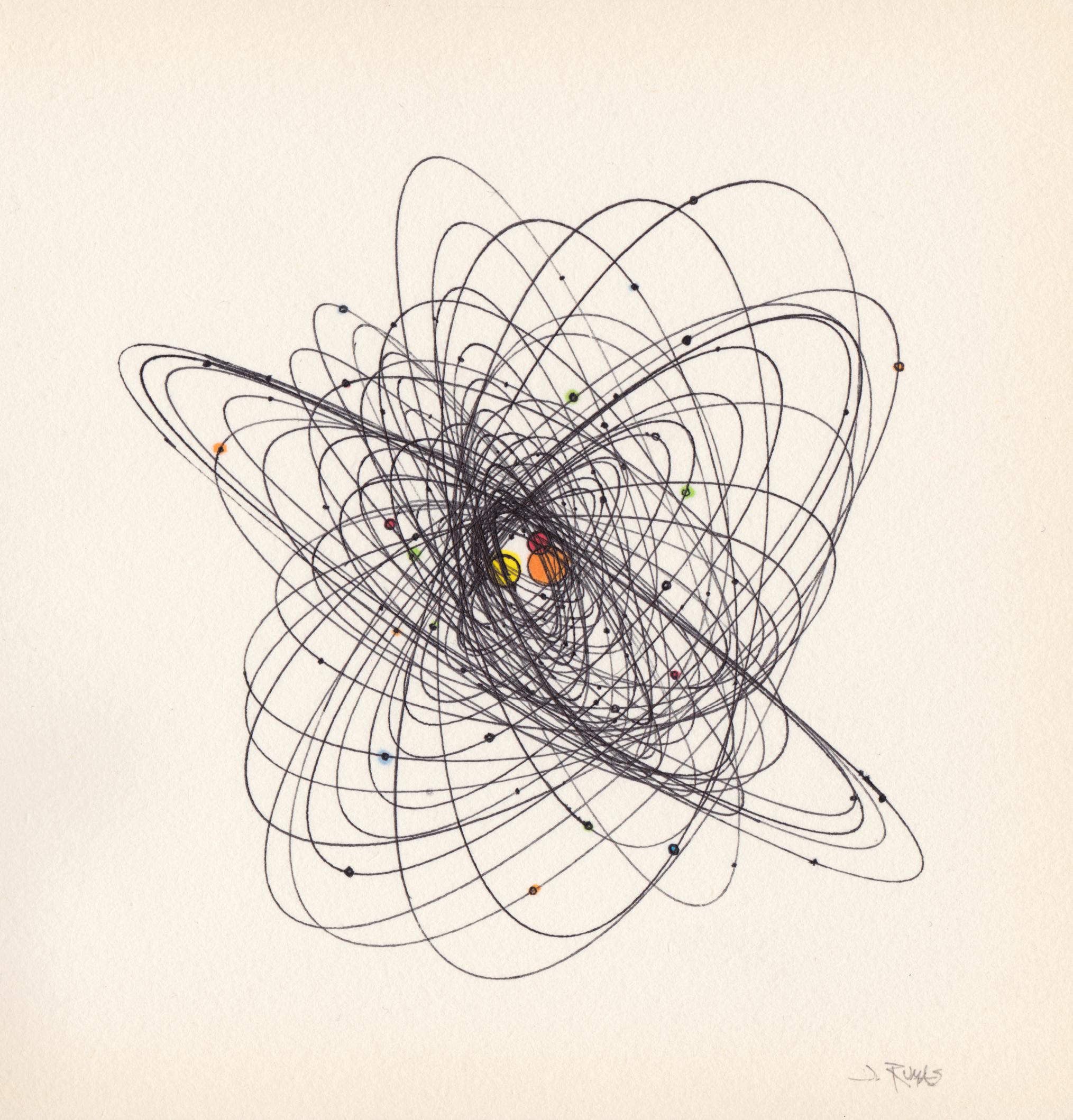 JEREMY RUMAS ART + PEN and MARKER SKETCHES _ ORBIT 04 + space + solar system + futurism + modern art +www.jeremyrumas.com.jpeg