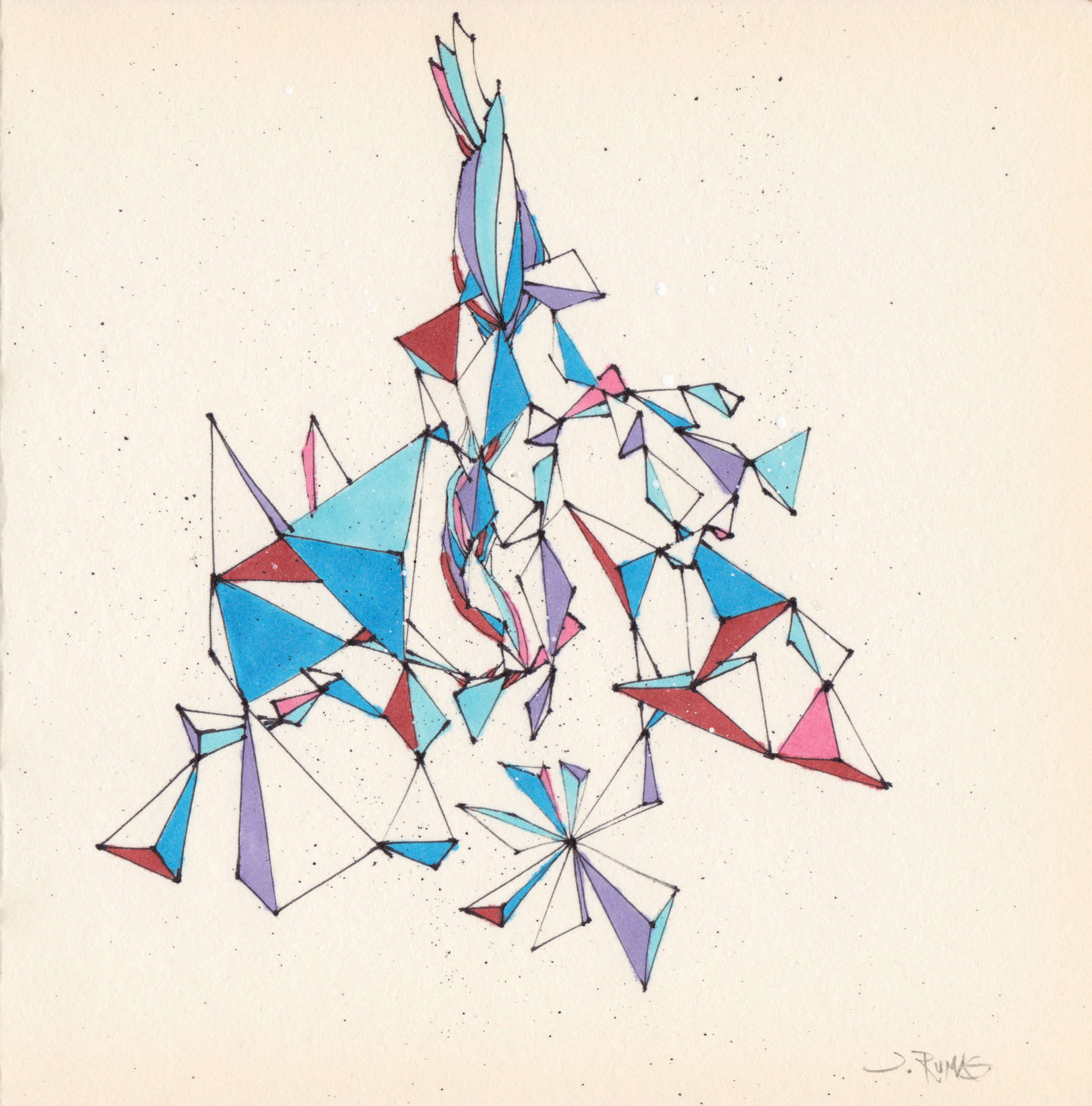 JEREMY RUMAS ART + PEN and MARKER SKETCHES 07a + abstract futurism + modern art + contemporary art +www.jeremyrumas.com.jpg