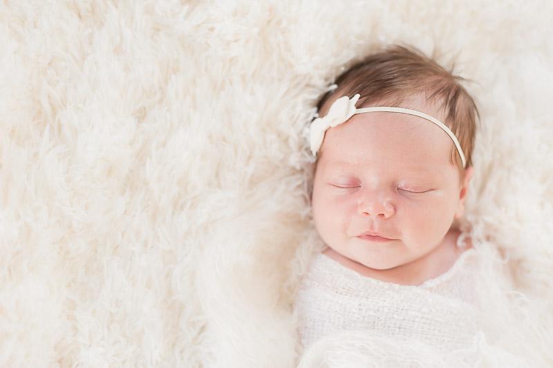 Simply beautiful, little newborn girl Ventura photo