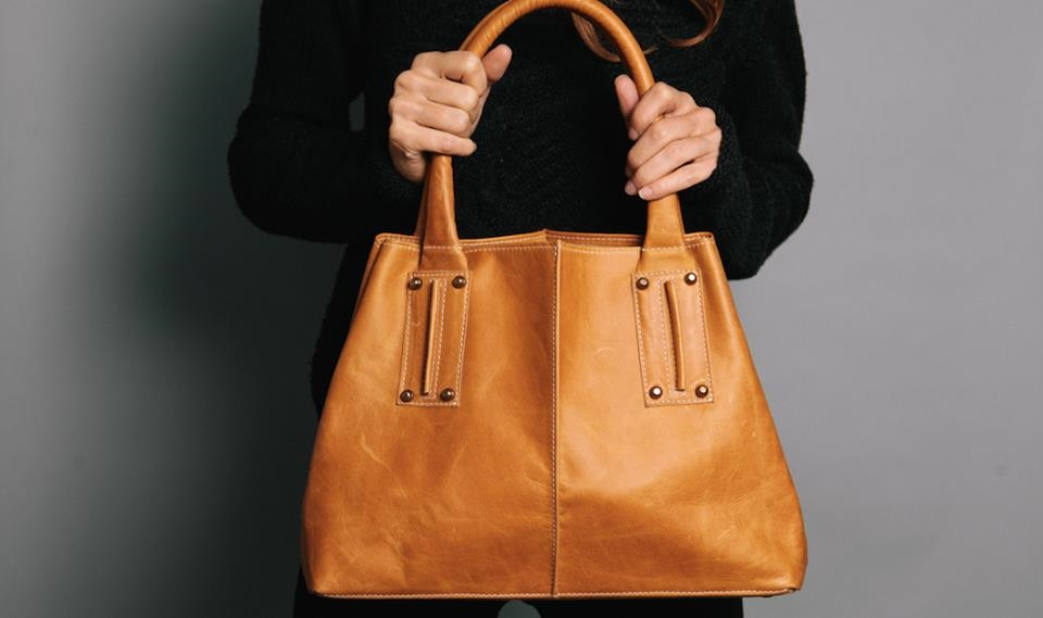 Ceri Hoover Wyeth Raw Leather Camel tote.jpg
