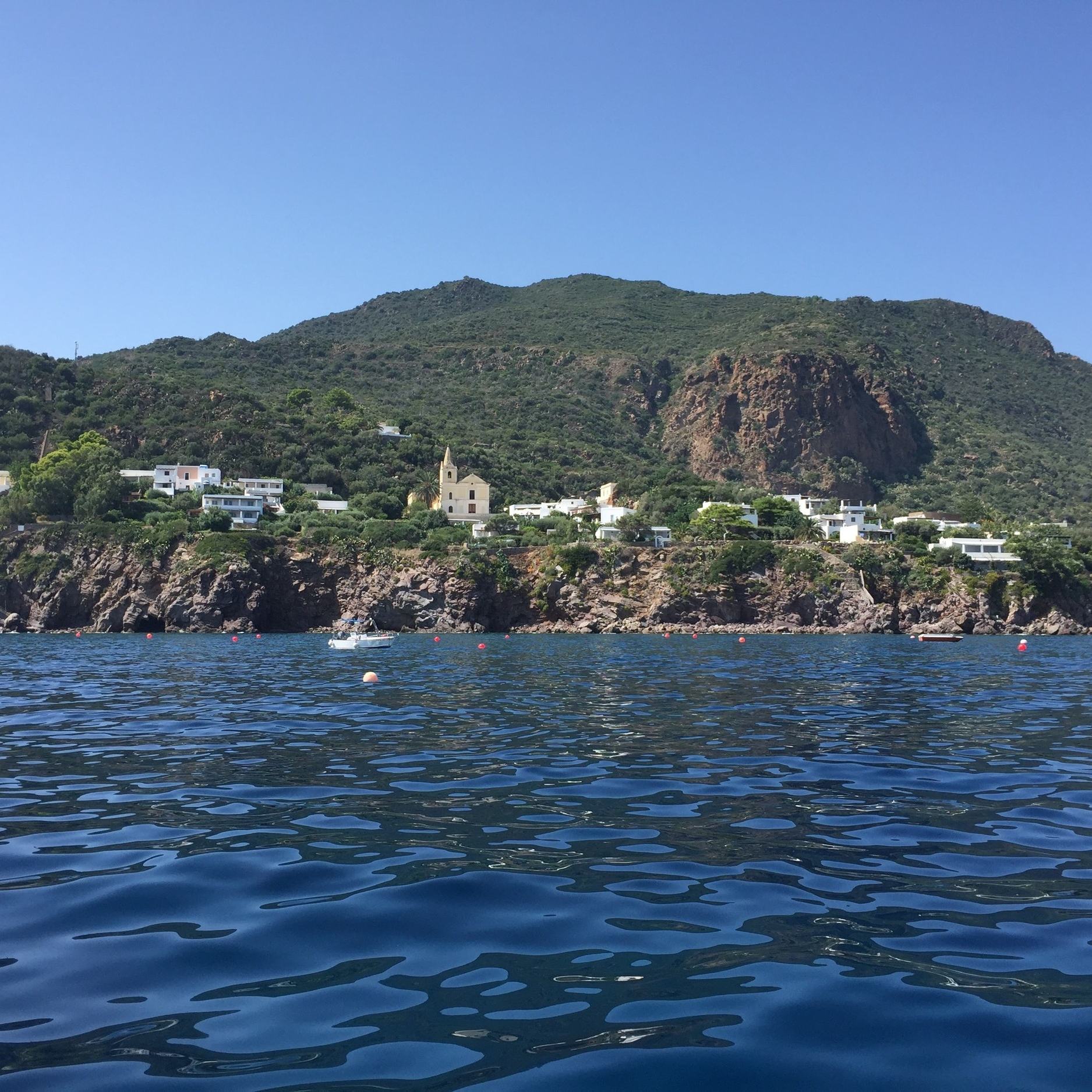 Panarea is the smallest Aeolian island, with no cars allowed. It would take only three hours to walk its perimeter, although few people are up for the rugged trek in summer. Instead, activity is focused primarily around San Pietro, where you'll find the main town and the port.