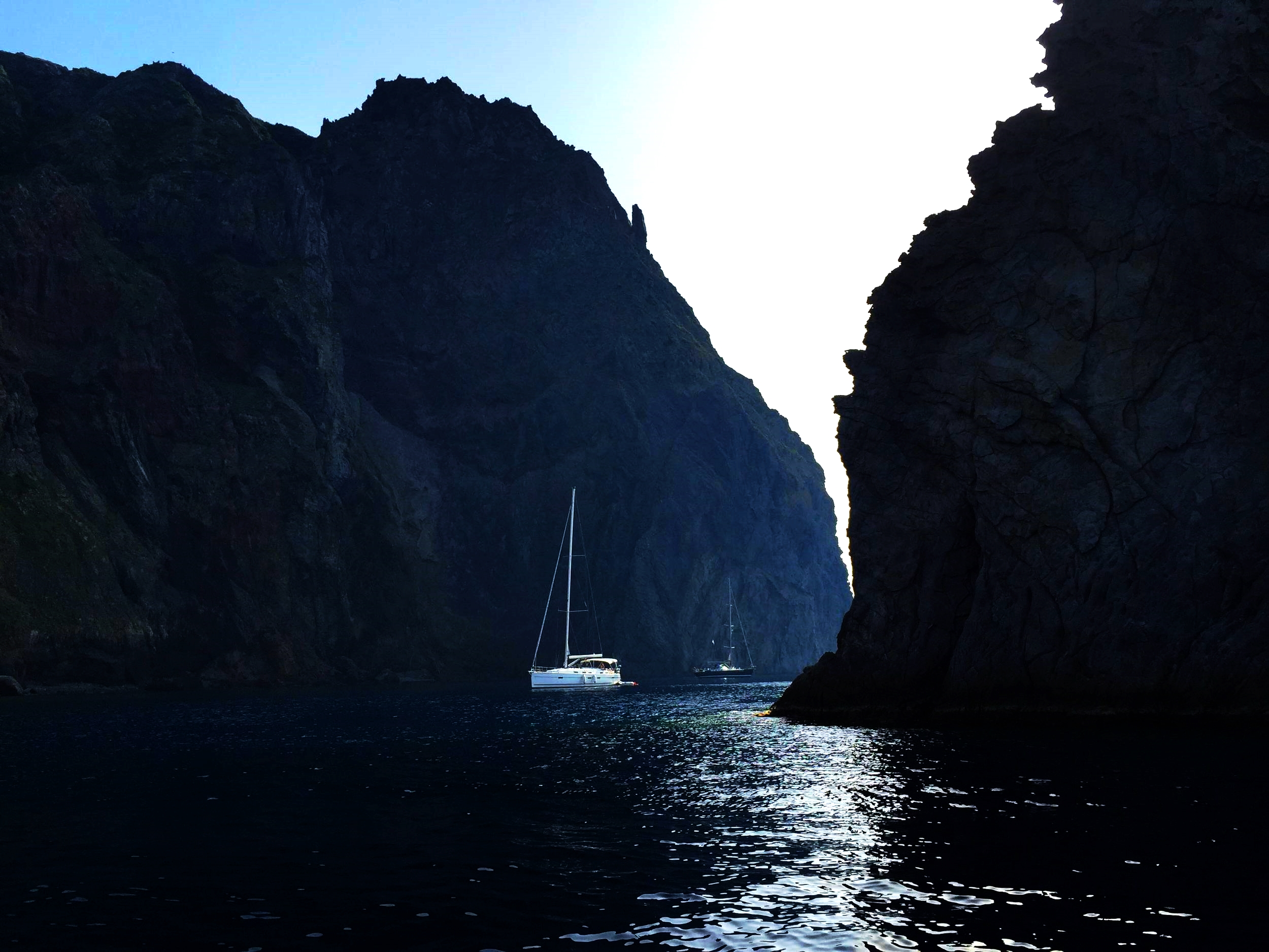 It's exhilarating to round the corner and see La Nave, at one end of Panarea. While the light goes down, the sea and land change colors. Just make sure to get home in time for your nightly aperitif!
