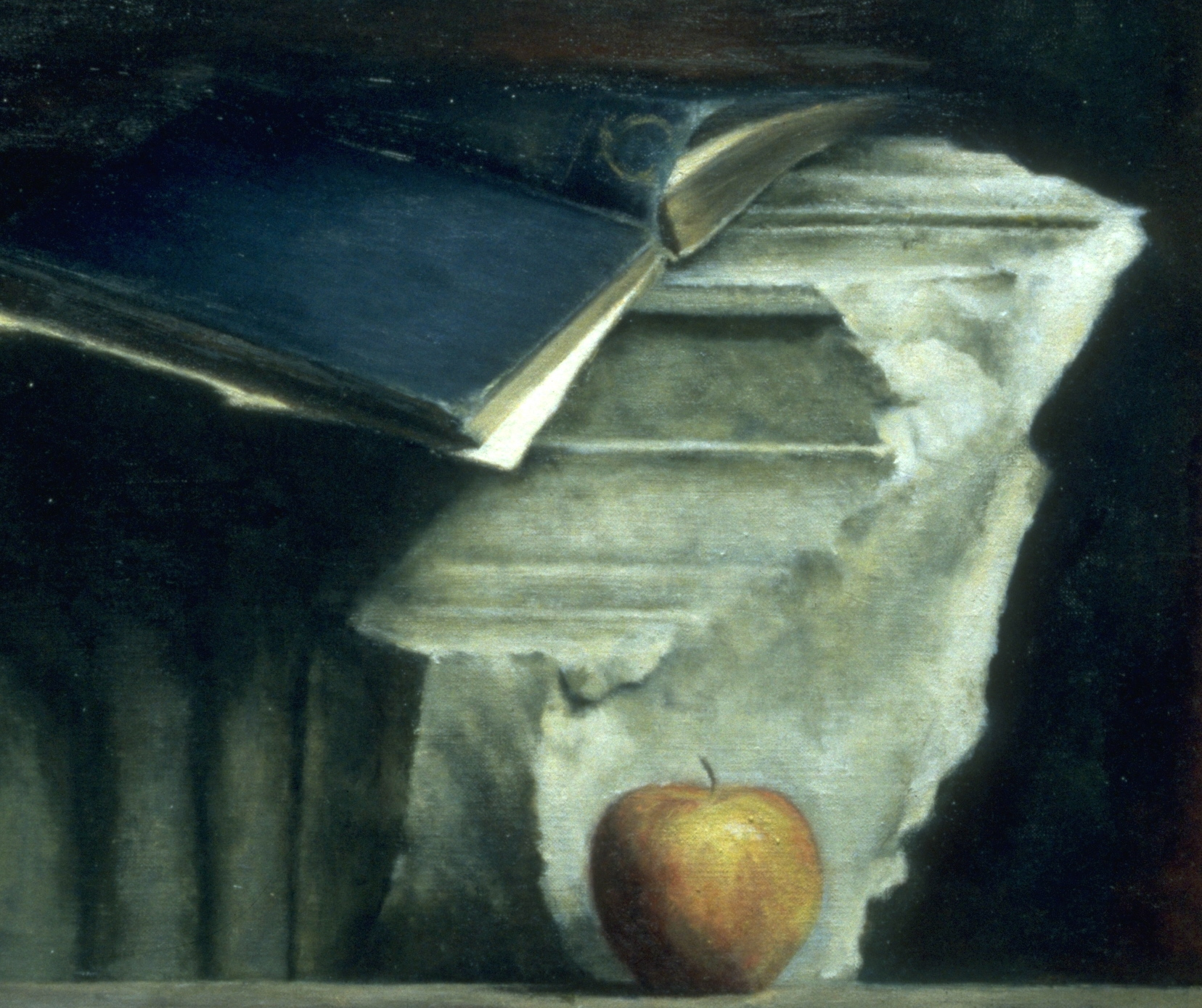 An Apple, A Book and A Rock