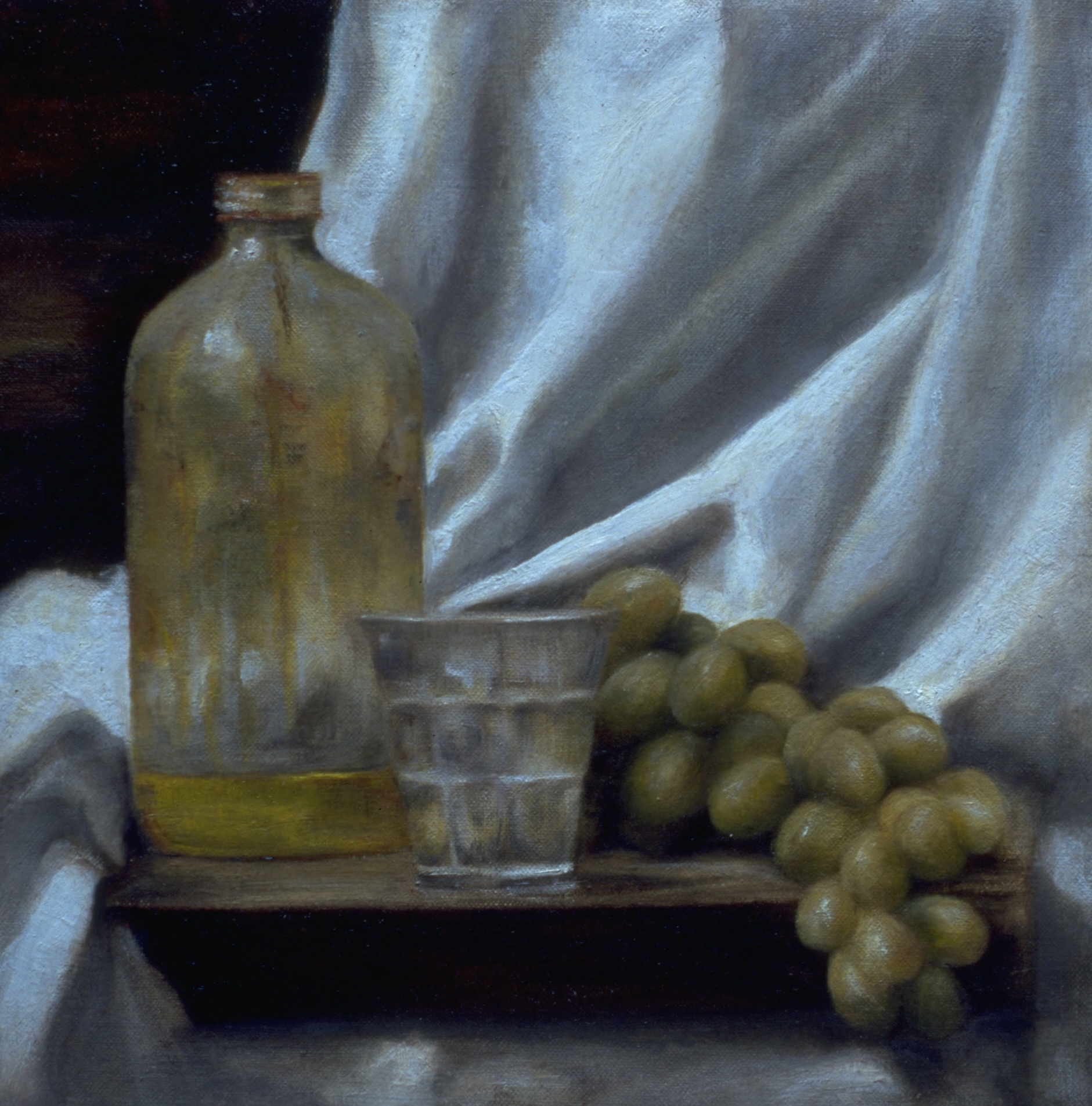 Oil, Water and Grapes