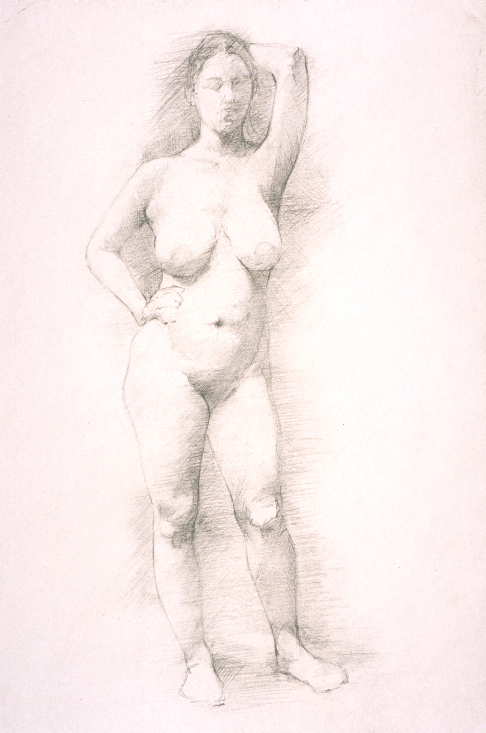 Female Nude, frontal