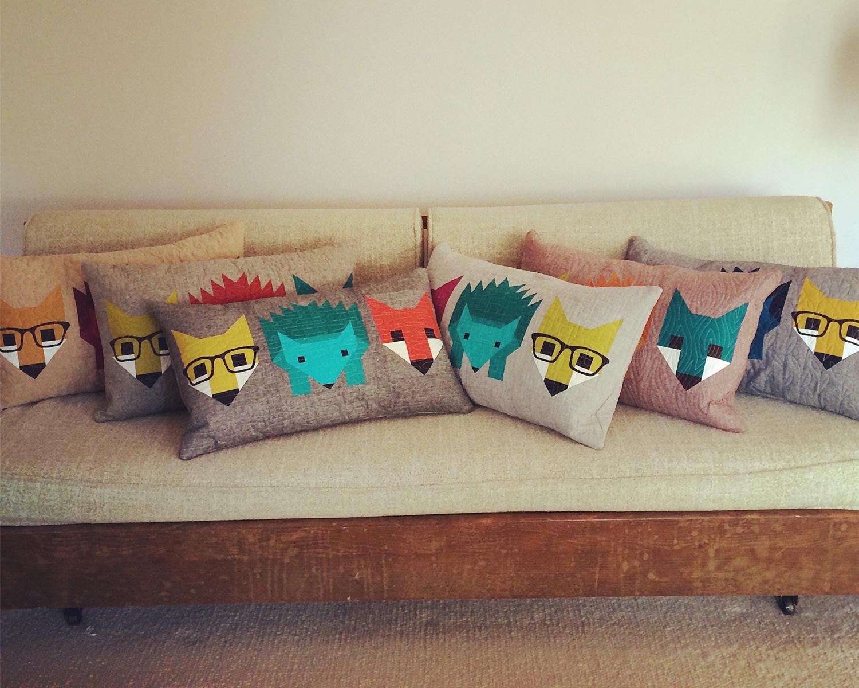 Fox_and_Hedgehog_Pillows