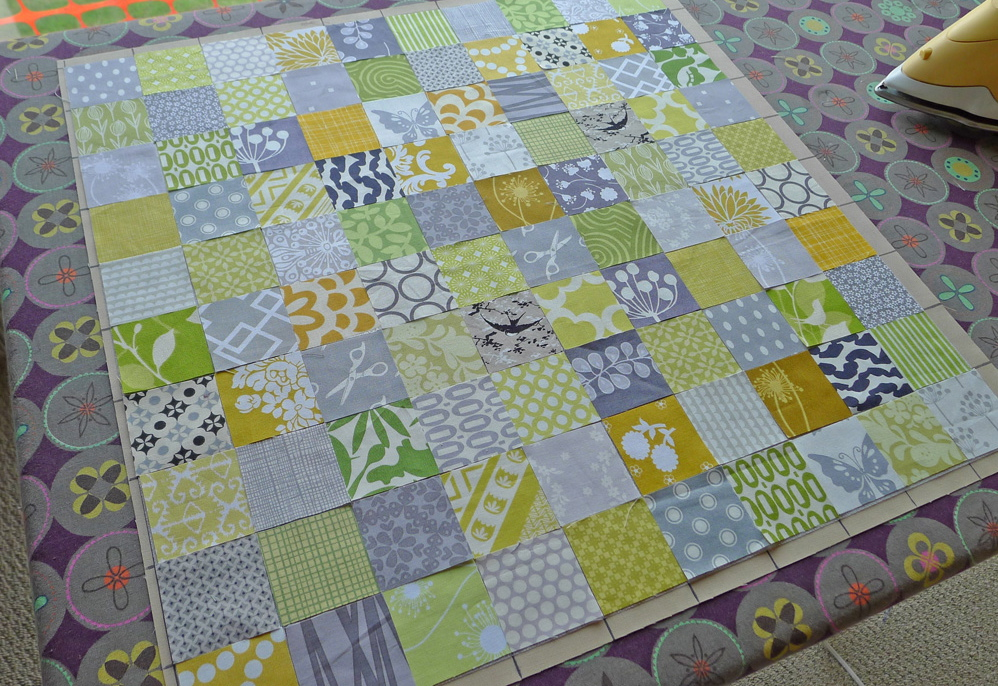 Making the Stamp Collection Block. ohfransson.com
