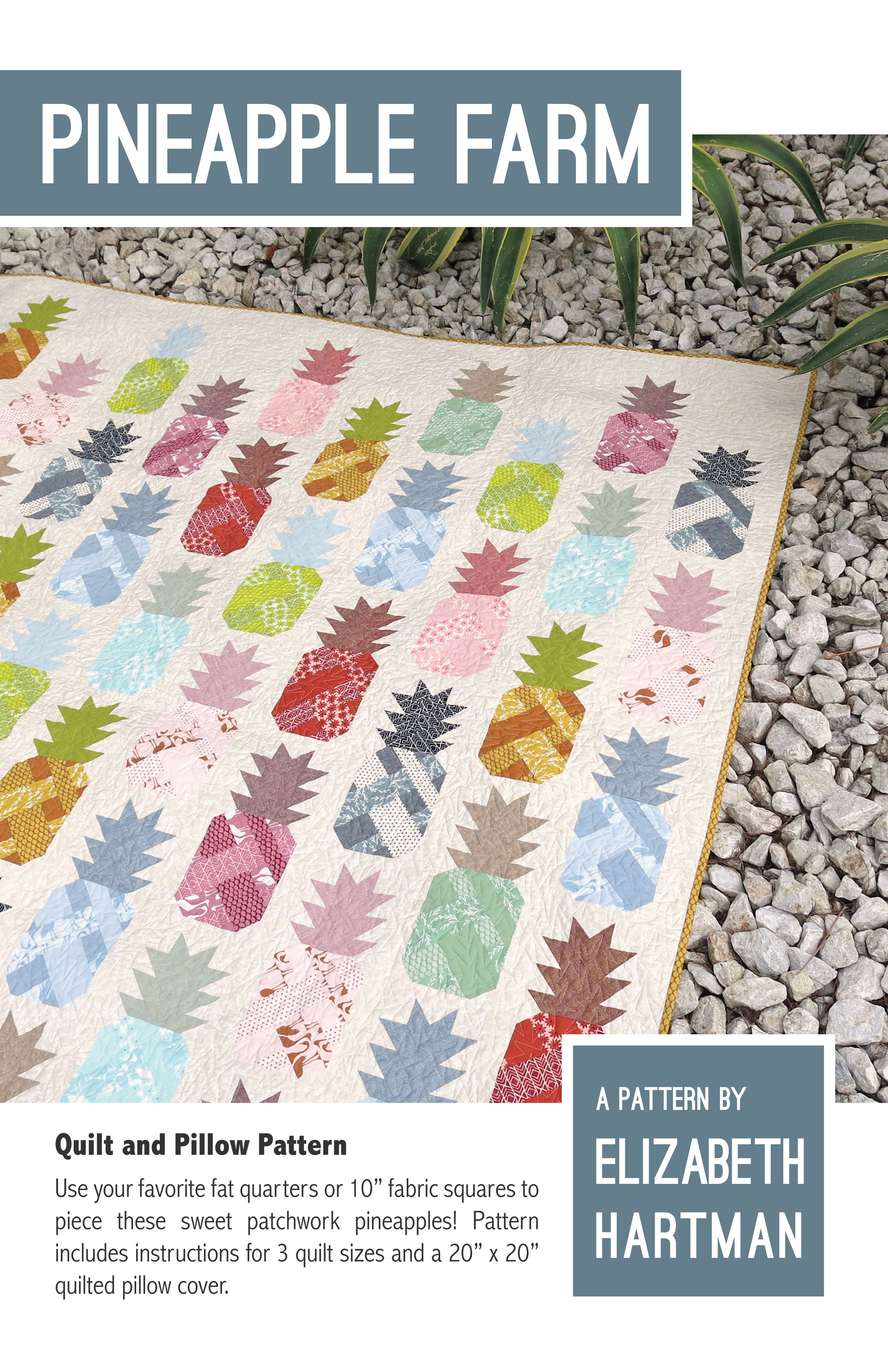 Pineapple Farm Pattern Cover