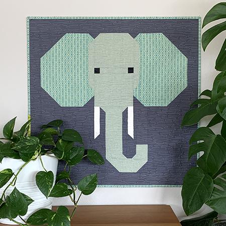 Copy of Spectacular Savanna Elephant Quilt