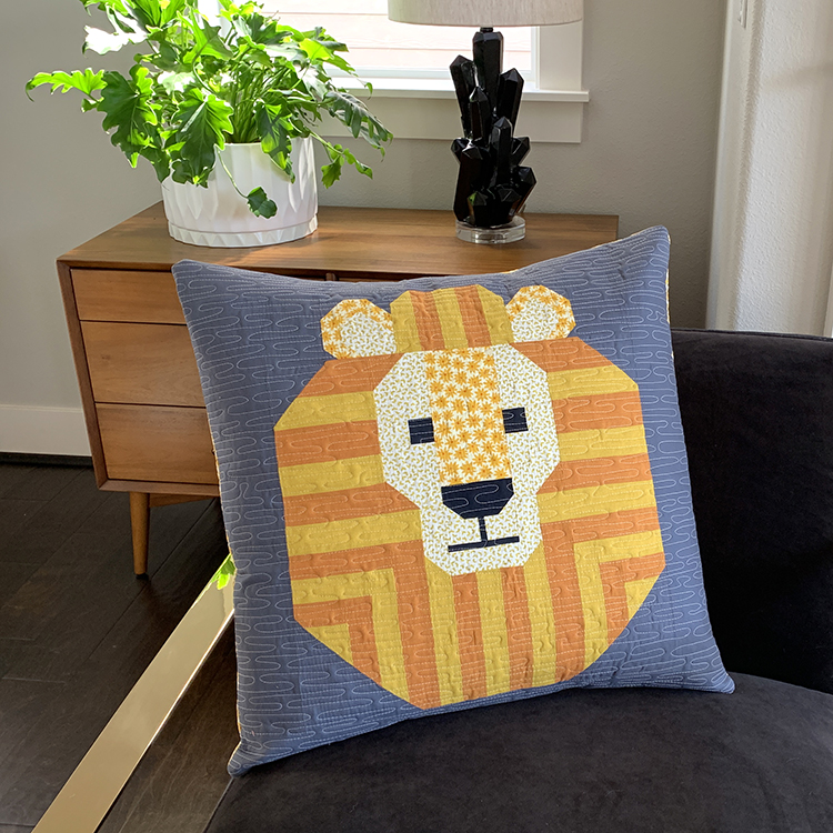 Copy of Spectacular Savanna Lion Pillow