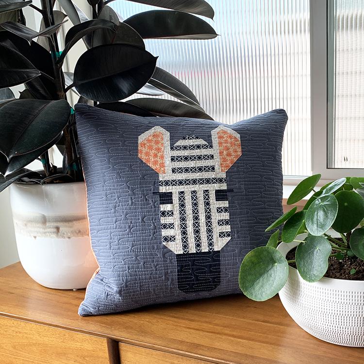 Copy of Spectacular Savanna Zebra Pillow