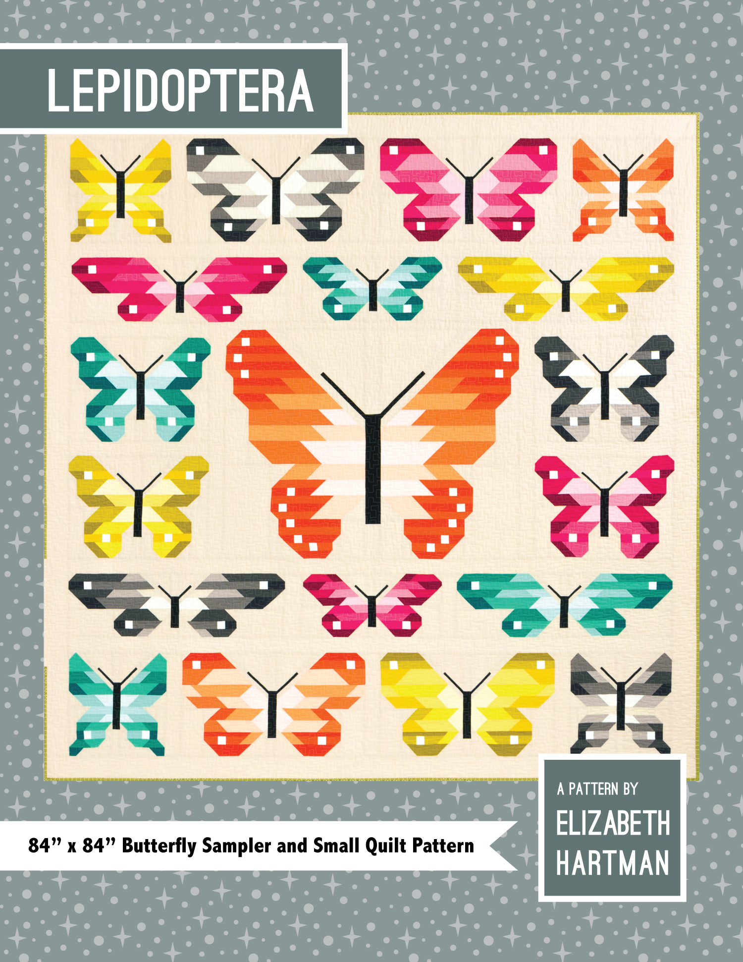 EH027 Lepidoptera Pattern Cover