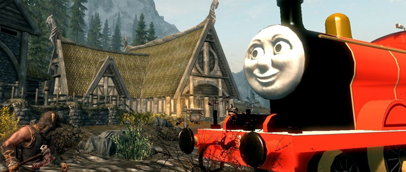 Skyrim Tank engine