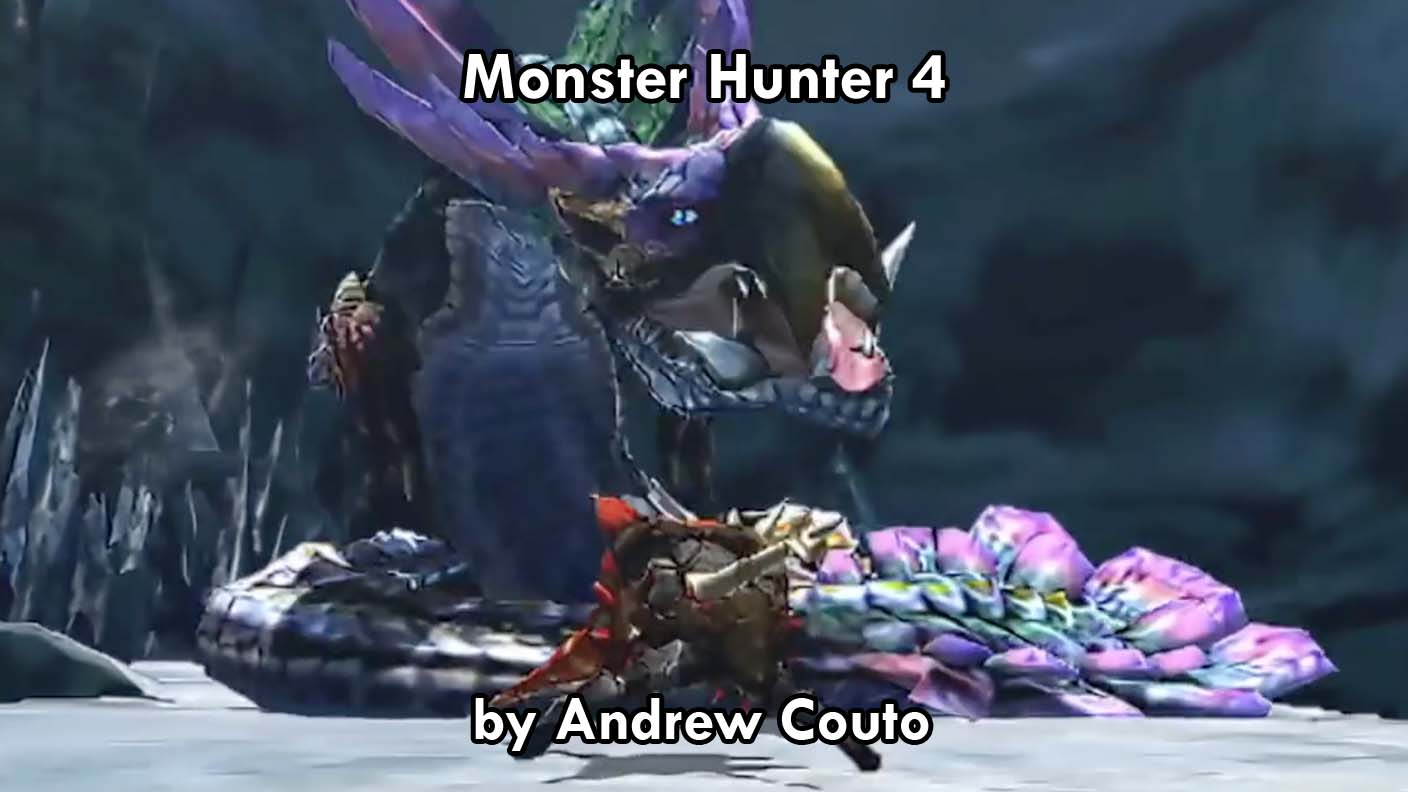 Monster Hunter 4: Ultimate for 3ds. Short Form Critique by Andrew Couto