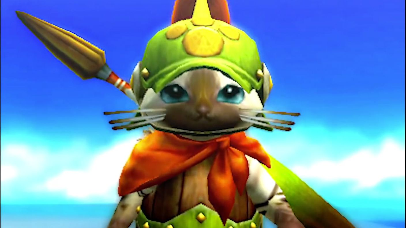 Monster Hunter 4: Ultimate. Adorable cat thing. Short Form Critique by Andrew Couto