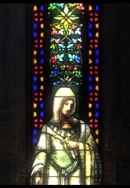 Demon's Souls stain glass window 3-2 Tower of Latria