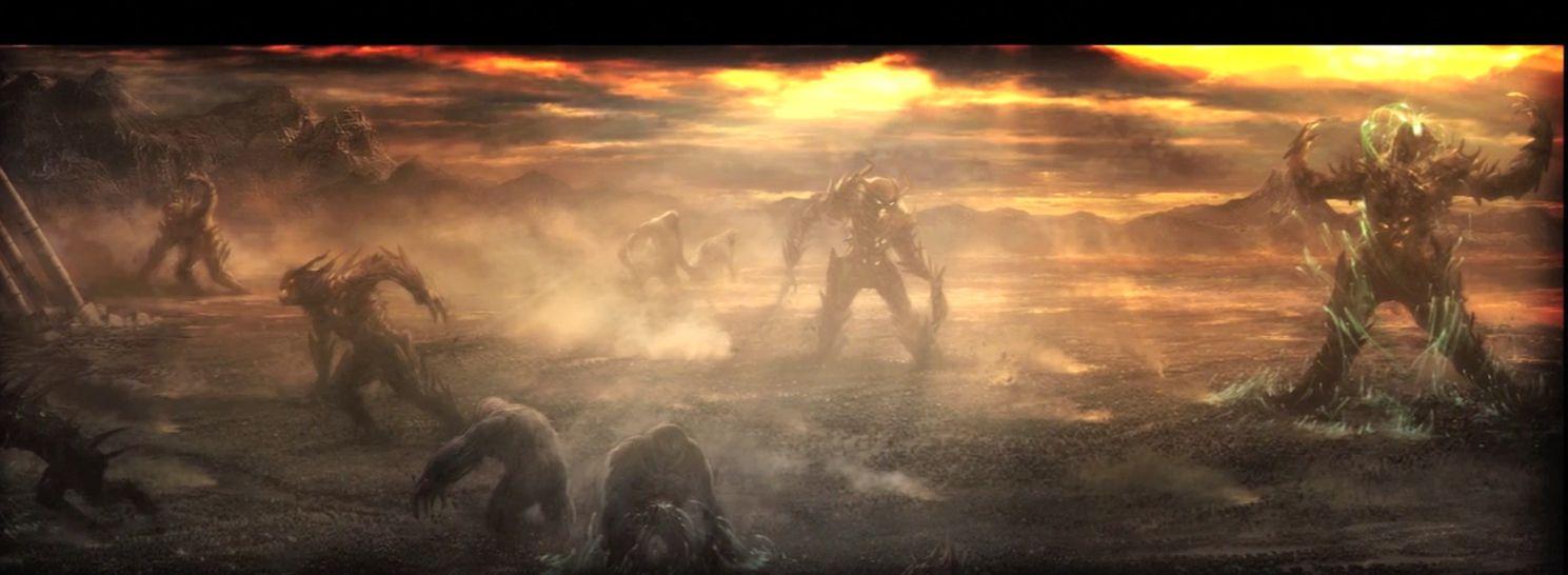 Demon's Souls opening cutscene cinematic mythology