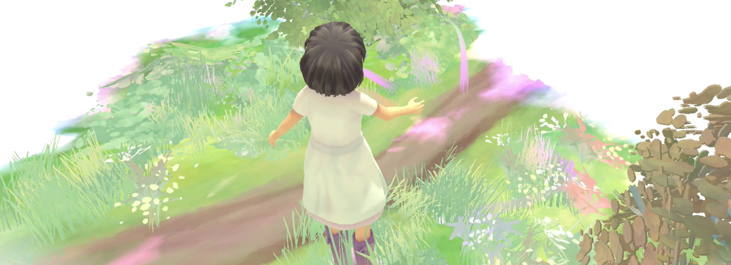 Beyond Eyes indie video game for Xbox One and PS4 about a blind girl searching for her cat.