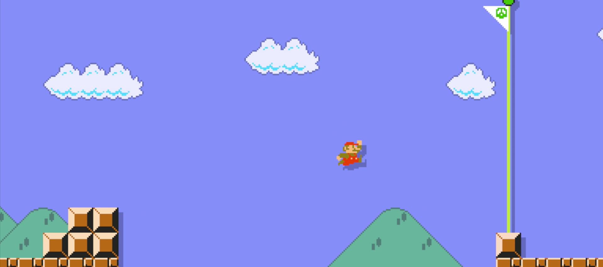 Game of the Year 2015: Super Mario Maker for Wii U from Nintendo via eShop. Original Mario Bros.