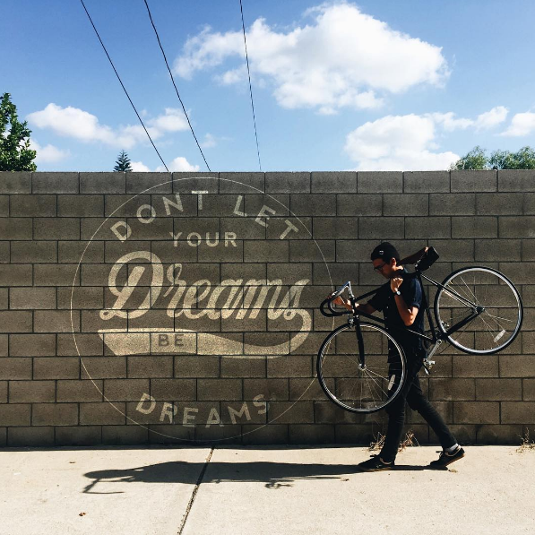 DON'T LET DREAMS BE DREAMS FOR STATE BICYCLE CO. BY: ADAM GONZALEZ