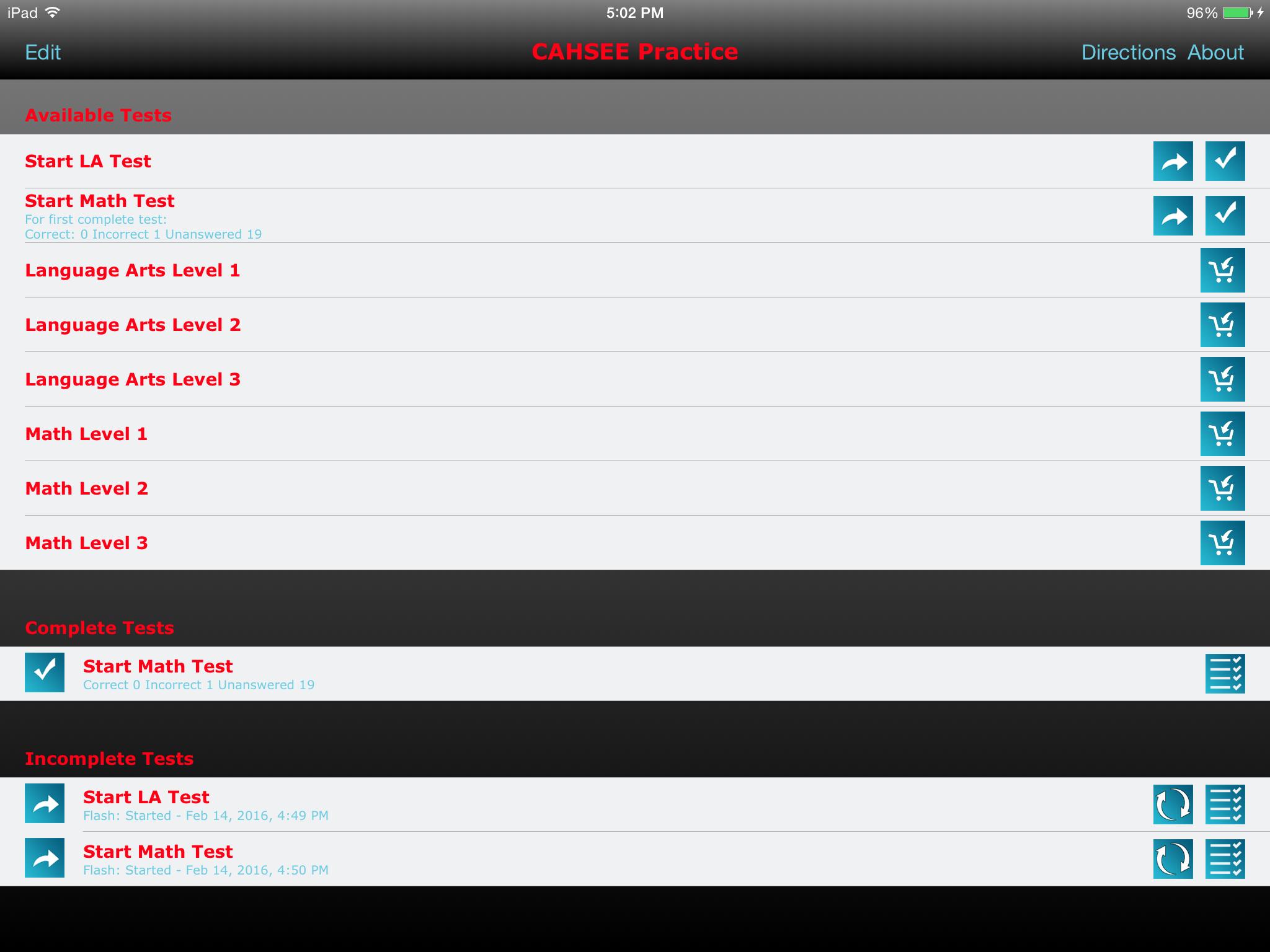 Launch Screen
