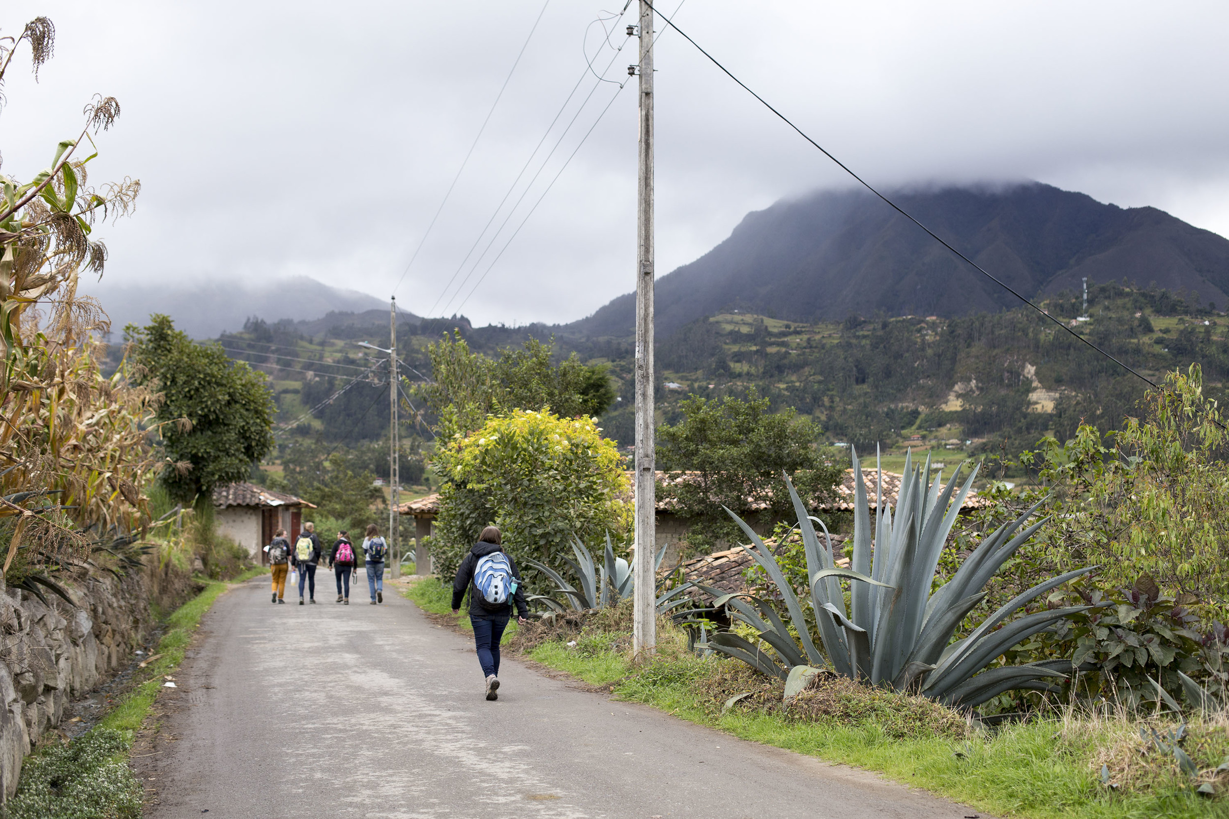 Walking through Ñamarin