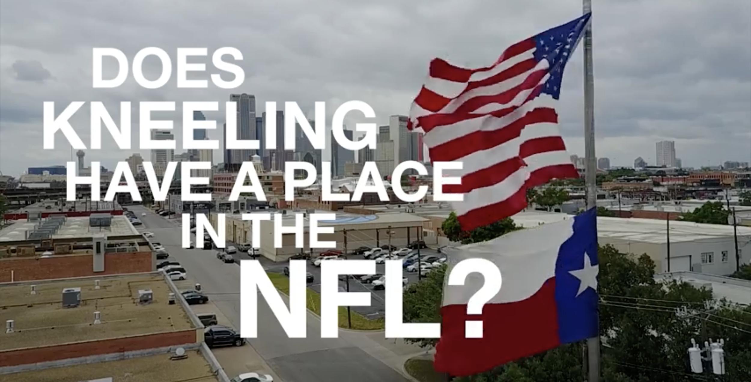 Kneeling in the NFL