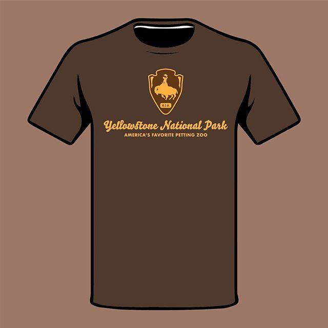 """Yellowstone National Park """"America's Favorite Petting Zoo"""" ———————————- #yellowstoneanimaltrainer"""
