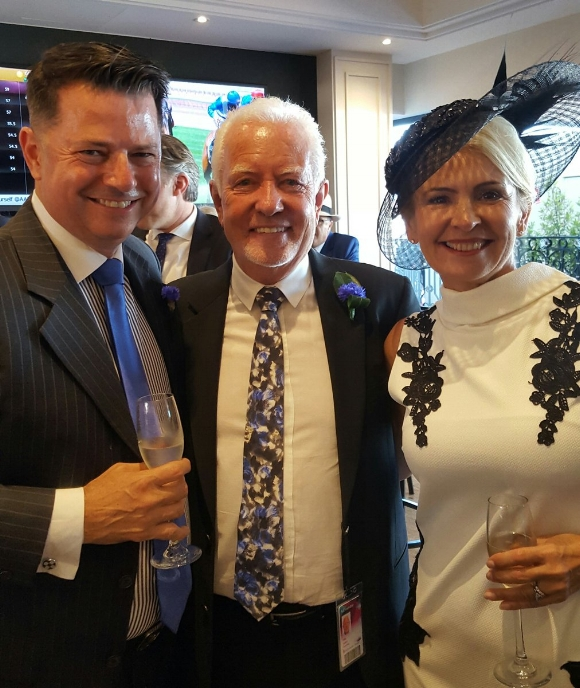 DAMON GABBEDY TOASTS ANOTHER SHEIDEL WIN WITH ROB & SYLVIE CRABTREE
