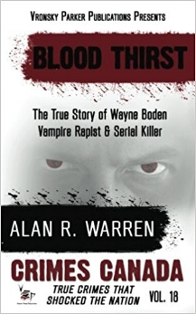 "Known as the ""Vampire Rapist"" or ""Strangler Bill"" for his distinctive modus operandi, Wayne Boden would rape, strangle and bite the breasts of his victims. His murdering rampage would continue in two cities over three years; he was only caught by superior evidence gathering and the help of an orthodontist. This book asks the question of ""How do we really know our boyfriend or lover when we don't want to ask the questions, not only because we don't want to know the answers for what it will tell us about them, but because of what it tells us about ourselves?"" True Crime Author Alan R. Warren takes you through the details of the case including the dental impressions used in court to convict Boden, a first in Canadian history, as well as Boden's escape from a maximum-security prison."