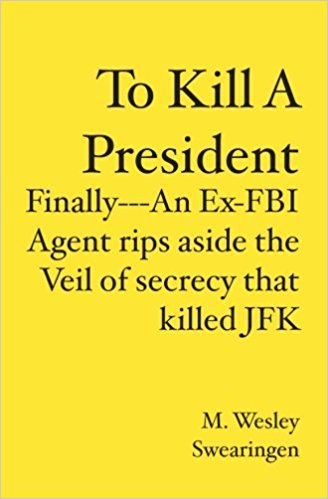Swearingen, a 25-year FBI veteran and world renowned whistleblower on FBI corruption and wrongdoing, now rips away the veil of secrecy concealing the FBI's treasonous misconduct in the 45-year cover-up of JFK's assassination. He names Cuban exiles; Chicago Mafia; and bad cops trained by the CIA's twisted murder conspiracy. Swearingen established his credibility in FBI SECRETS, AN AGENT'S EXPOSE?, when he documented FBI fraud and dishonesty. He successfully forced the FBI to admit the truth in cases where the FBI had lied under oath to the courts and to the Congress.