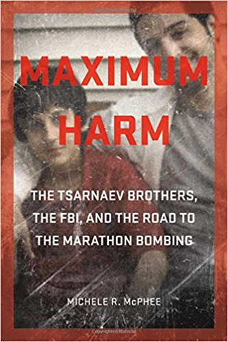 "In Maximum Harm, veteran investigative journalist Michele R. McPhee unravels the complex story behind the public facts of the Boston Marathon bombing. She examines the bombers' roots in Dagestan and Chechnya, their struggle to assimilate in America, and their growing hatred of the United States—a deepening antagonism that would prompt federal prosecutors to dub Dzhokhar Tsarnaev ""America's worst nightmare."" The difficulties faced by the Tsarnaev family of Cambridge, Massachusetts, are part of the public record. Circumstances less widely known are the FBI's recruitment of the older brother, Tamerlan Tsarnaev, as a ""mosque crawler"" to inform on radical separatists here and in Chechnya"