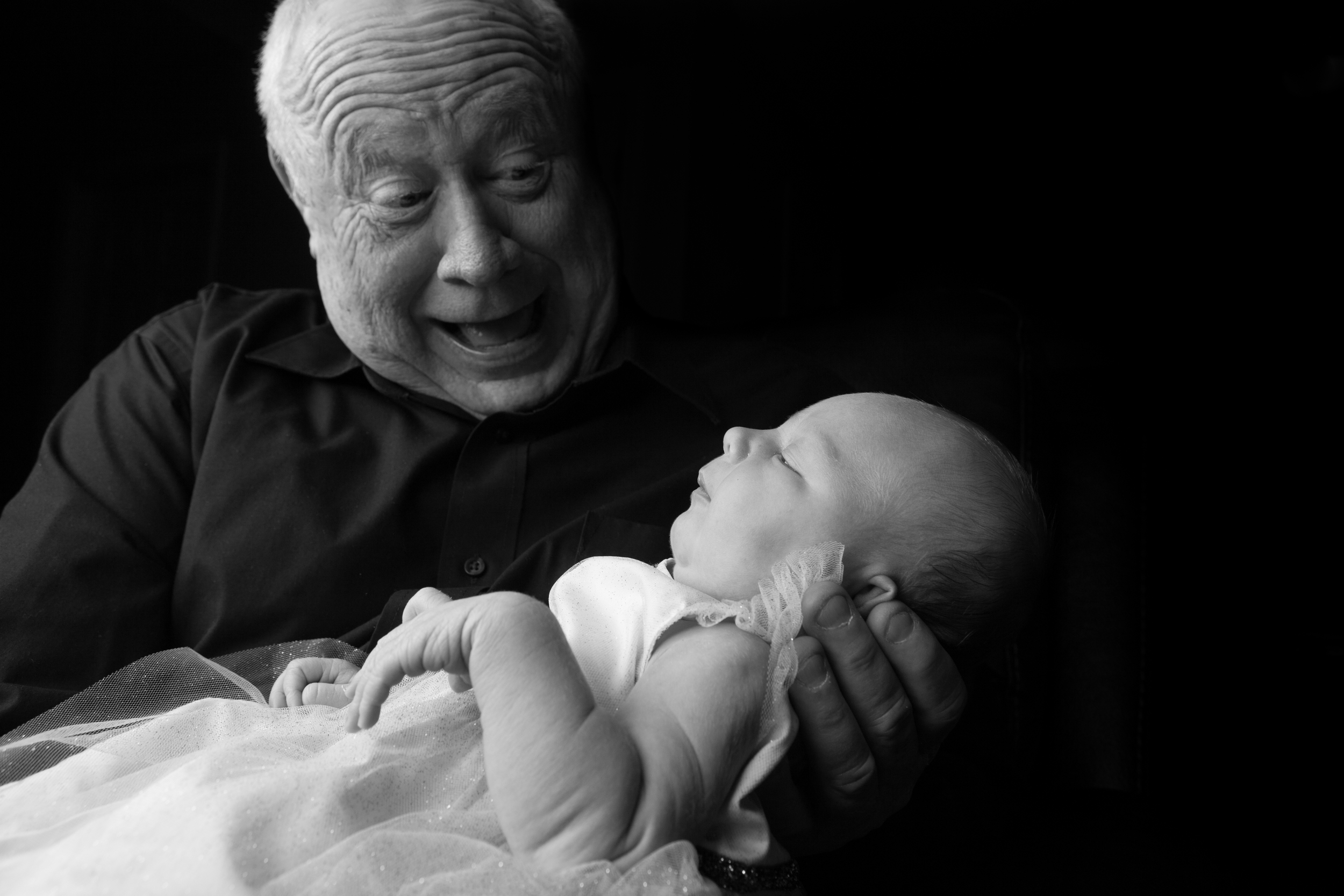 Penelope and Grandpa Tindall
