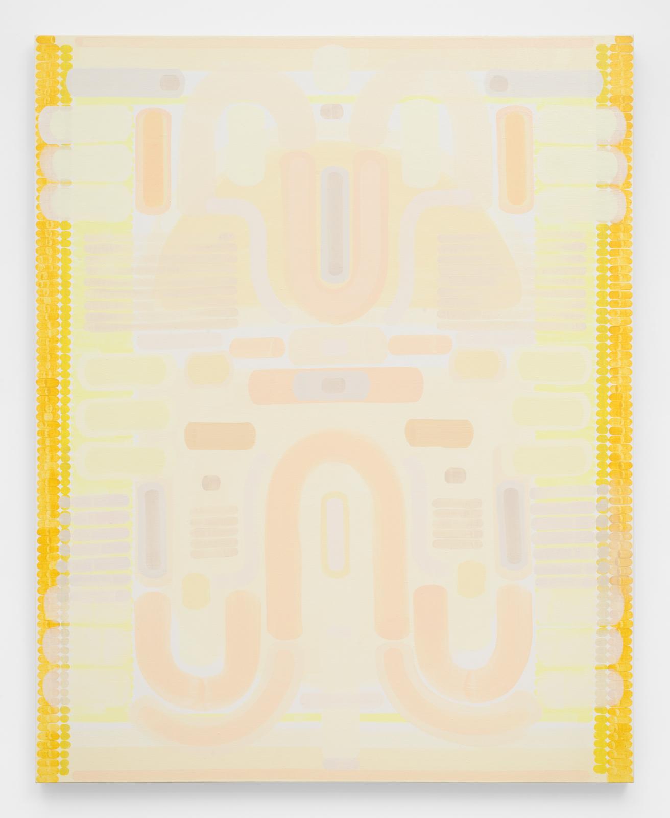 Brittlebush , 2016 Oil on linen 60 x 48 inches