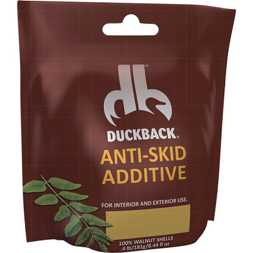 Duckback Walnut-based friction additive. 1 packet per gallon of paint.