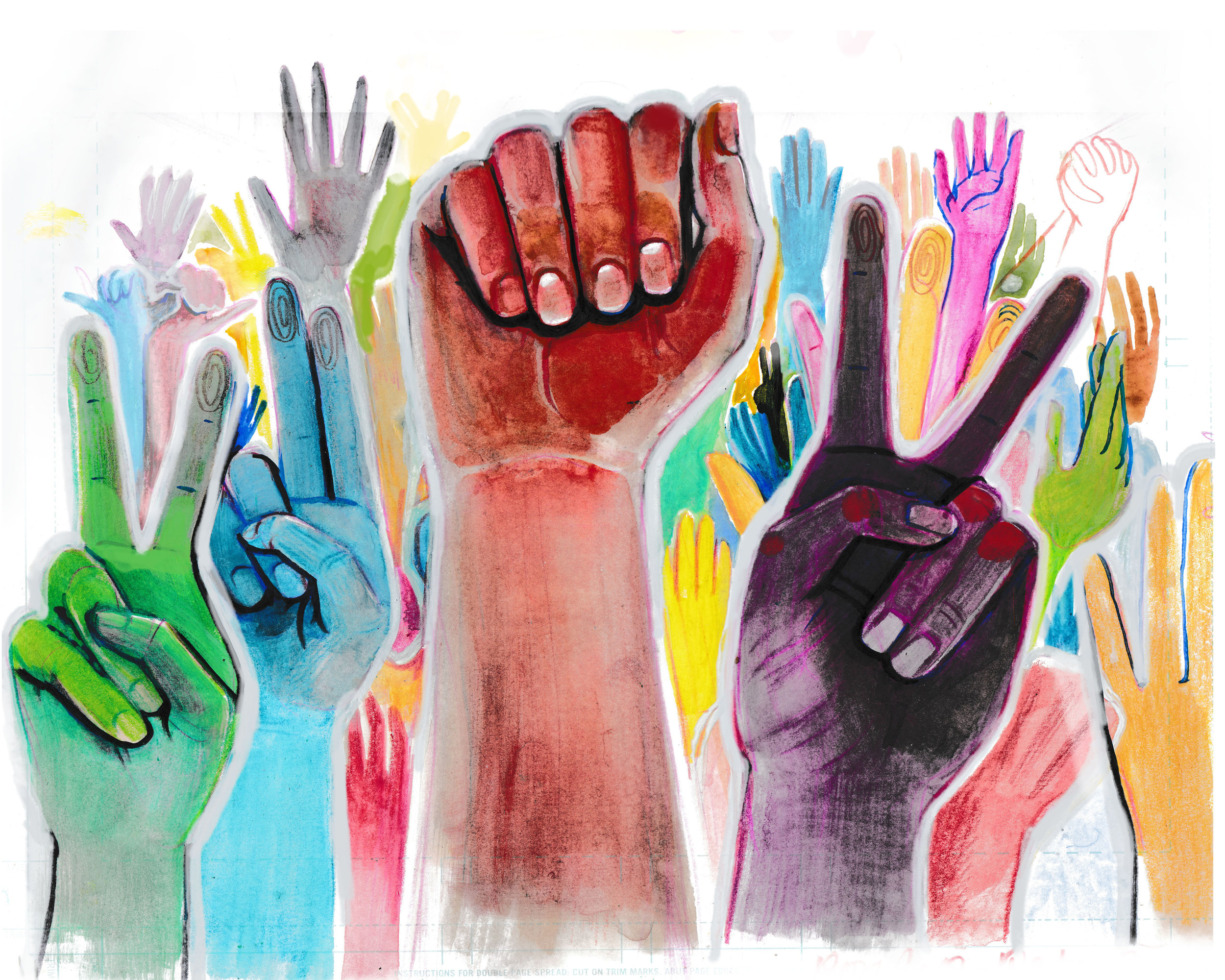 Hands held high together, we are a movement!