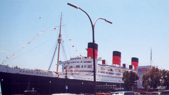Queen Mary built in 1936 - now a haunted hotel