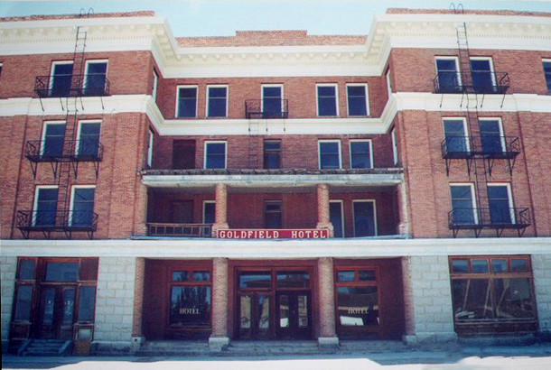 the Goldfield Hotel, NV