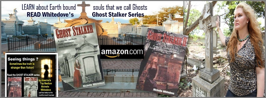 Ghost Stalker & Celebrity Psychic Michelle Whitedove visits America's Most Haunted Sites http://amzn.to/2ehcse6