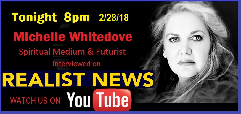 realist news Psychic predictions Cryptocurrency Michelle Whitedove