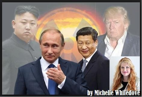 North Korea   Kim Jong-un  ,Russia   Vladimir Putin ,  China   Xi Jinping ., USA     Donald Trump