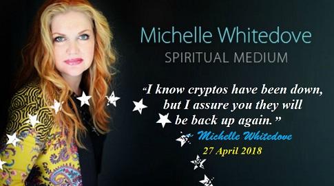 Michelle Whitedove Quote Crypto Predictions 2018