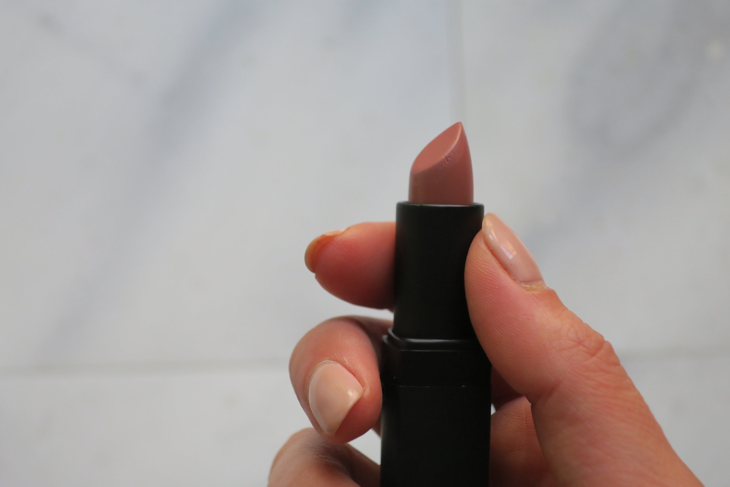 i didn't know i - needed this until it was suggested to me at counter. rosecliff is the perfect nude rose hue, with a touch of brown. its a total 'your lips but better' color that can be worn everyday. the formula is comfortable, but i always use lip creme underneath.