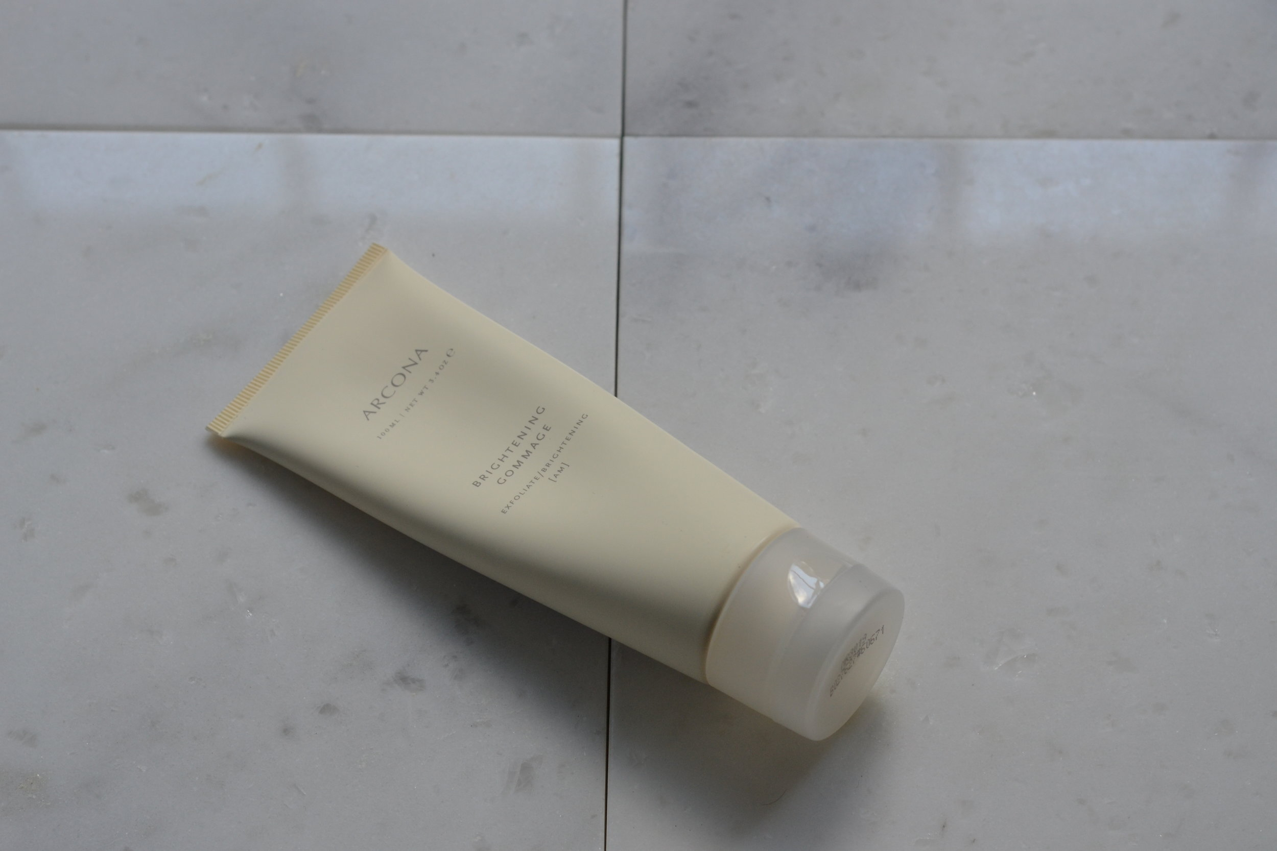 this doesn't have - the best smell to it, but what it does have is little granules that help to gently exfoliate my face. i use this 3 times a week, sometimes i mix a little of it into glow recipes' blueberry gentle bounce cleanser, for extra oomph
