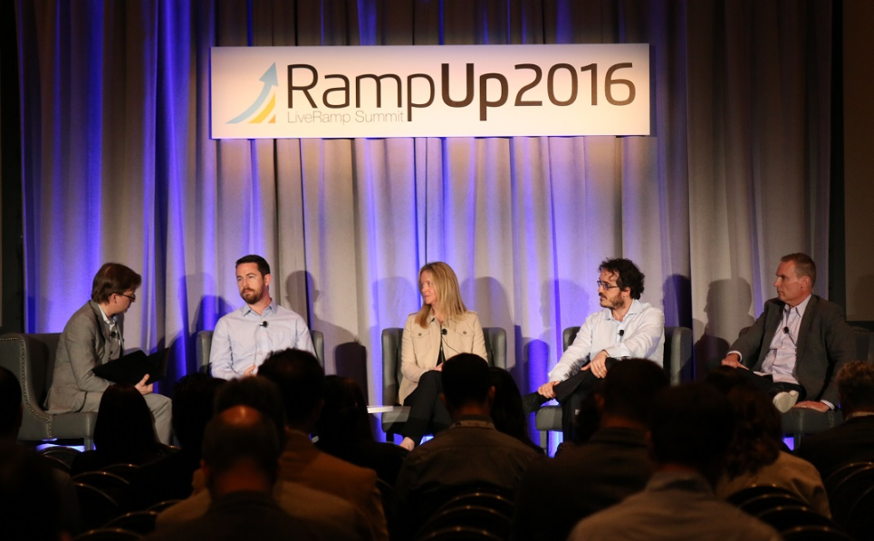 One of the 17 panel discussions at #RampUp16.