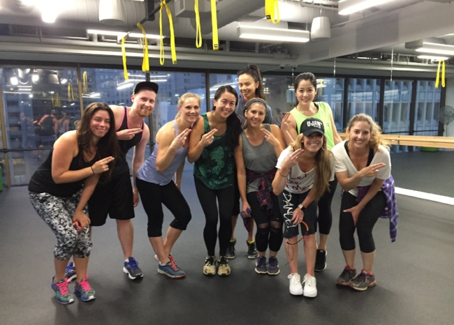 Because a company who works out together, stays together - especially when your CEO is teaching the class!
