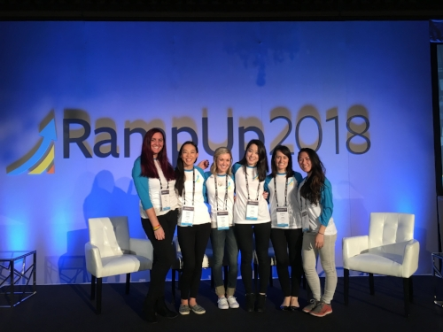 cred team @ RampUp 2018!